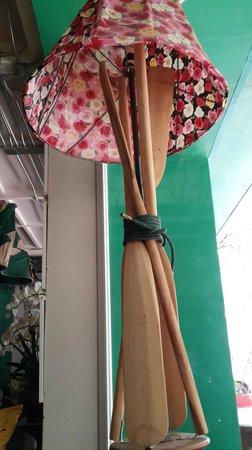 Silom Art Hostel: lamps
