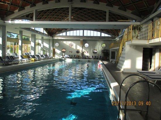 AbanoRitz Thermae & Wellness Hotel: 25 Meter-Becken, fein zum schwimmen