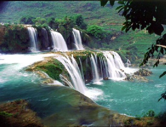Cao Bang, Vietnam: Ban Gioc Water Falls