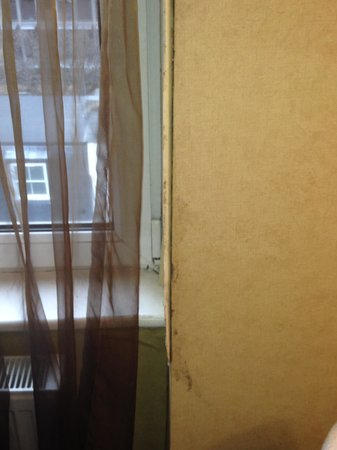 Shaftesbury Premier Hotel London Paddington: Muro della finestra