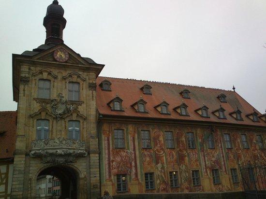 Altes Rathaus : facciata laterale