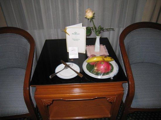 The Park Hotel: ウェルカムフルーツ