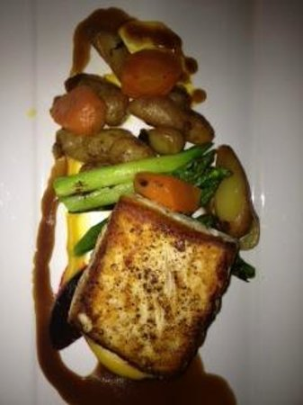 Bacalao - Nouvelle Newfoundland Cuisine : Catch of the day - Pan Seared Halibut