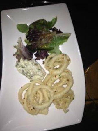 Bacalao - Nouvelle Newfoundland Cuisine: Calamari Appetizer