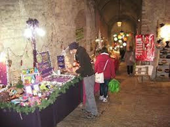 Rocca Paolina: mercatini natalizi
