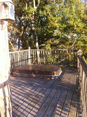 vue int rieure picture of chateaux dans les arbres bergerac tripadvisor. Black Bedroom Furniture Sets. Home Design Ideas