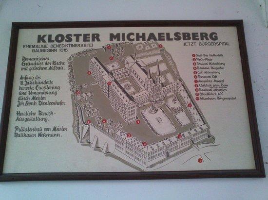 St. Michaelskirche: pianta del complesso
