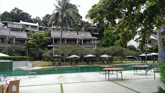Turi Beach Resort: The other pool at Tirta Wing