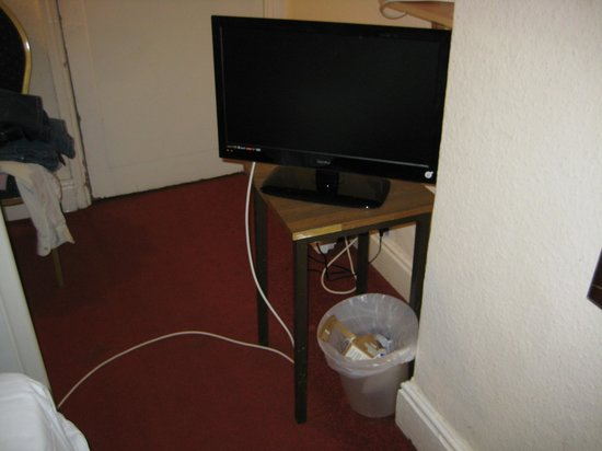 Glendevon Hotel: TV in my room