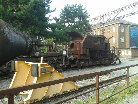 Landschaftspark: Il vecchio treno