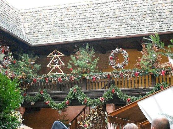 Village de Kaysersberg : Décos de Noël