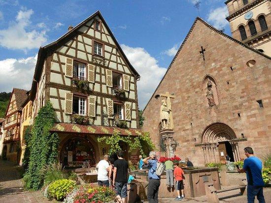 Village de Kaysersberg : L'église du centre
