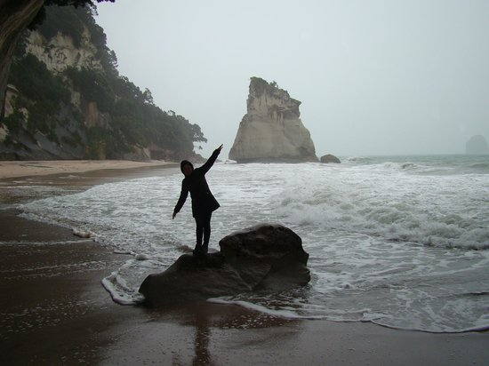Cathedral Cove Walk: Paz!!