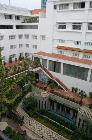 Rex Hotel: Patio
