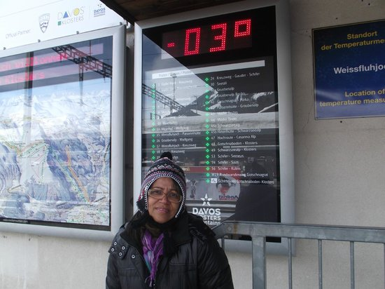 Davos Klosters Ski Resort: gelo