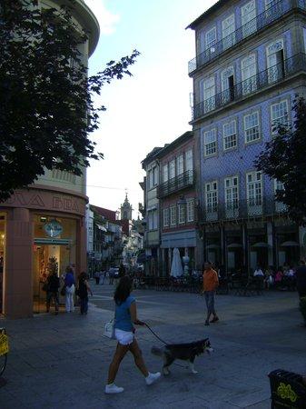 Bragatruthotel: A rua do hotel