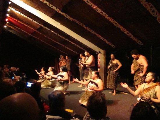 Tamaki Maori Village: Dança