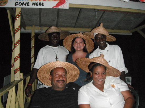 Our Past Time Villas : Hanging with the Staff/friends