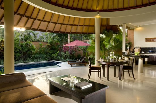 The Kunja Villas & Spa: Living Area
