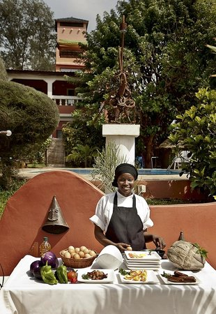 Ngala Lodge: Breakfast is served!