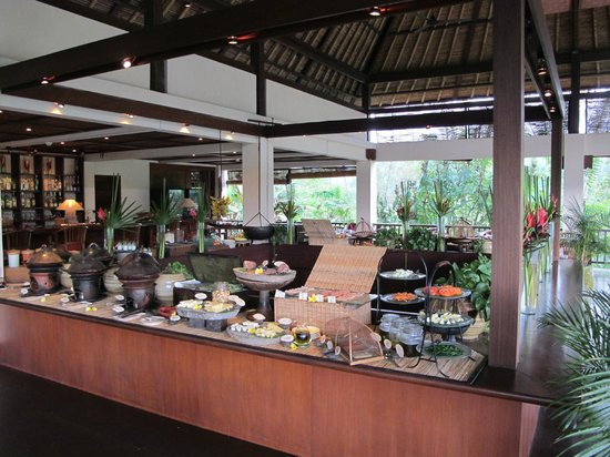 Hanging Gardens of Bali: Breakfast buffet