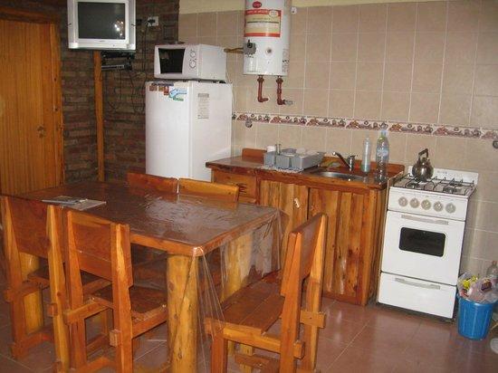 Cabañas Villa Ro-Ci II: Cocina-comedor, cómoda y completa