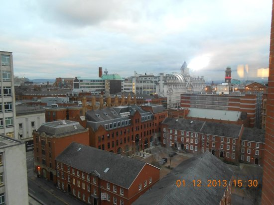 Premier Inn Manchester Central Hotel : View from 8th floor