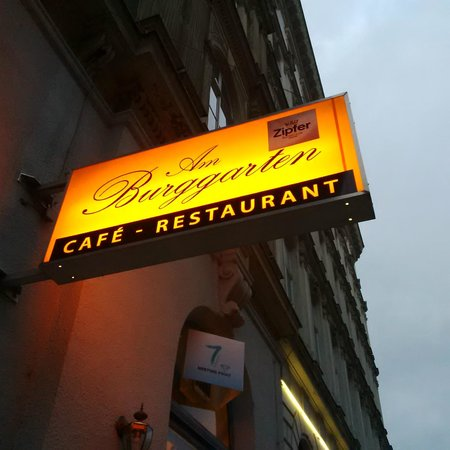 AM BURGGARTEN: Logo of the restaurant