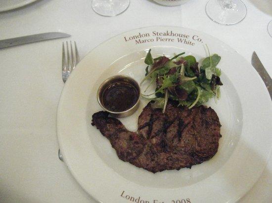 London Steakhouse Co - City: Hubby's steak