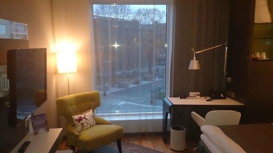 Radisson Blu Hotel Uppsala: Вид из окна