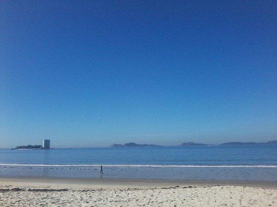 Playa Samil: En la playa en Septiembre