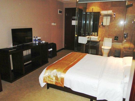 Han Tang Xin Ge Hotel : Deluxe Single Room