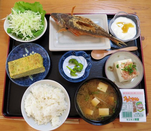 Pension Hamayu: 朝食