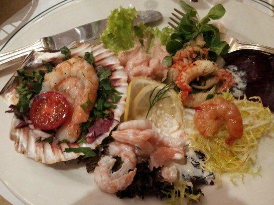 Restaurant Dallmayr : Schale mit Meereskrustentiere