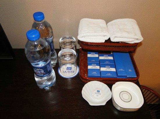 Han Tang Xin Ge Hotel : Pflegeprodukte