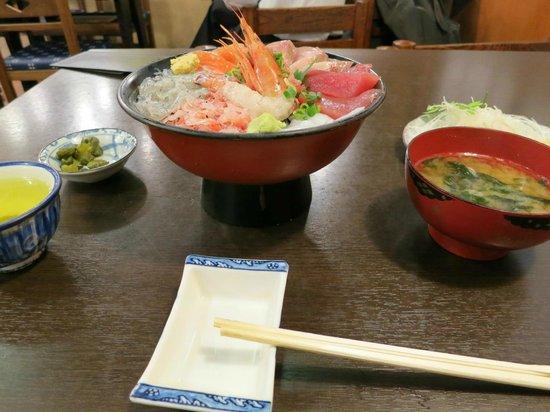 Maruten Uogashi: 丸天丼