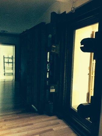 Aleph Hotel Rome: L'improbable porte de la salle de Fitness