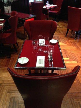 Aleph Hotel Rome: Le top Mobilier du restaurant