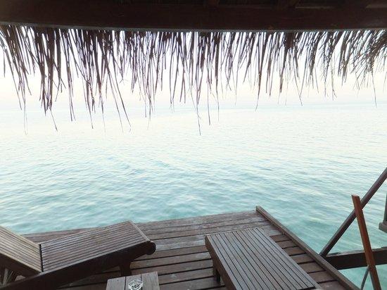 VOI Dhiggiri Resort : vista dalla camera