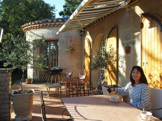 Viguiere Provence : ヴィギエールのテラス
