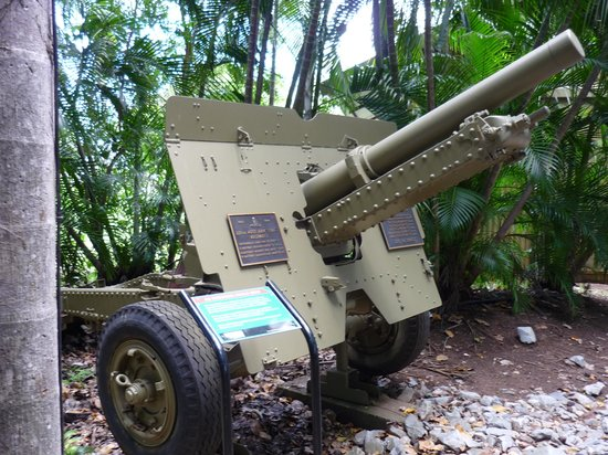 Defence of Darwin Experience: 25 pounder