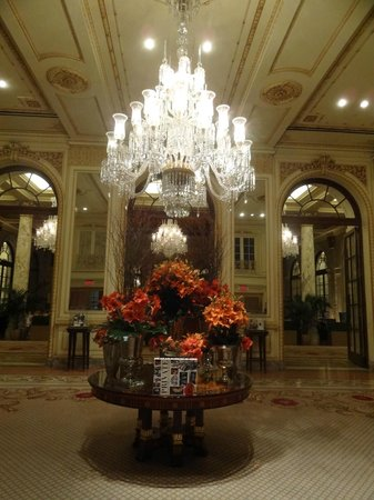The Plaza: In the lobby/foyer