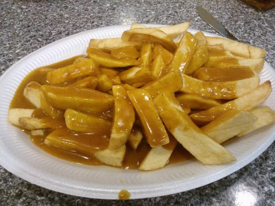 Smiffy's: Chips with Curry Sauce