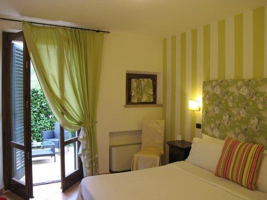 Arca di Pienza: в номере есть балкончик