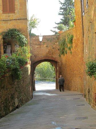 Arca di Pienza: улочки Пьенцы