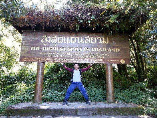 Phra Maha Dhatu Naphamethinidon and Naphaphonphumisiri Pagoda: The Highest Point in Thailand