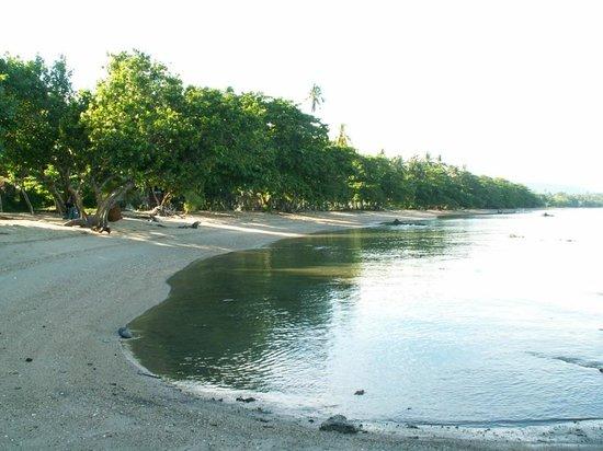 Le Passe-Temps : La plage côté sud
