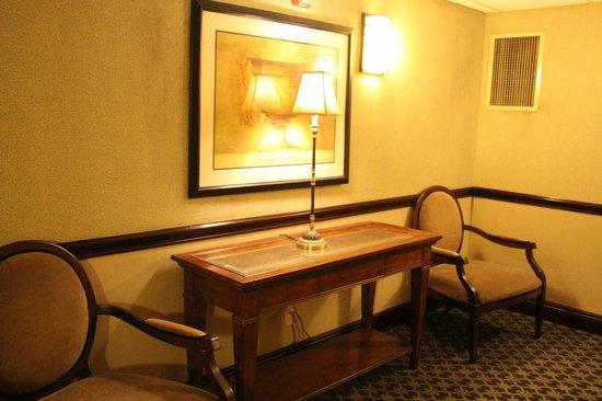 Hampton Inn Buffalo-Williamsville : Outside room, hallway area, near elevator