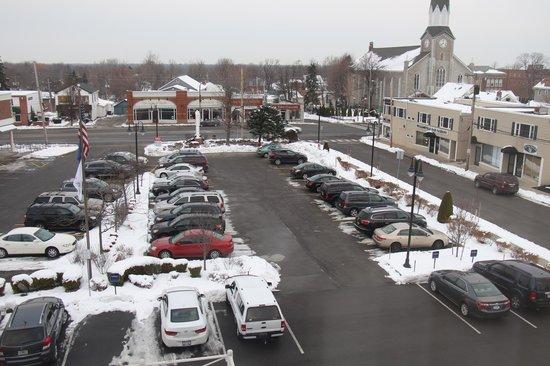 Hampton Inn Buffalo-Williamsville : View from hotel, 4th floor