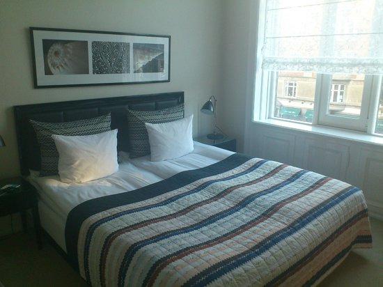 Avenue Hotel Copenhagen: Nice bed